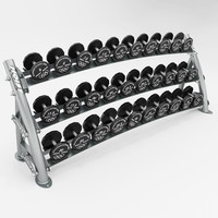 hoist dumbell rack max