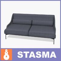 3dsmax lima sofa interior