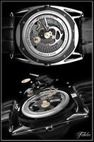 3d bethune watch mechanism wristwatch model