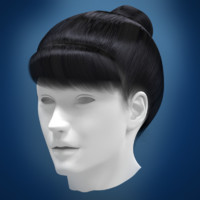 maya woman hair