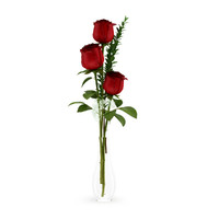 maya roses flask