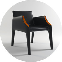 philippe starck kartell chair 3d model