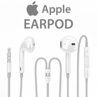 3d model realistic apple earpod