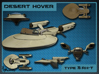 3d model desert hover 75 rh-t