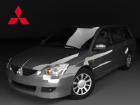3d mitsubishi lancer mk wagon