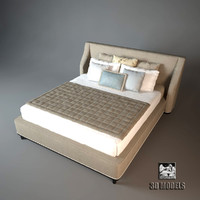 3d letto grace bed model