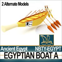 Ancient Egypt Boat A