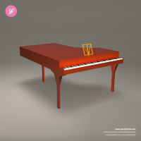 maya piano red musical