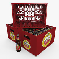 beer bottles crate blend