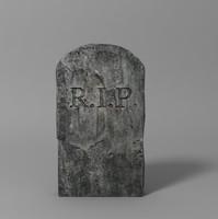 rip tombstone obj free