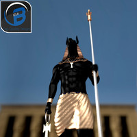 Anubis Egyptian God Statue