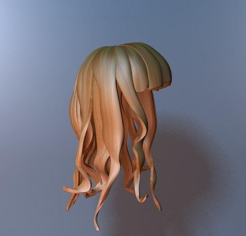 3d Max Hair Free - Praesta