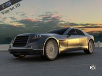 supercar concept 2 3d max