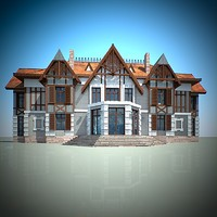 framing house 3d model