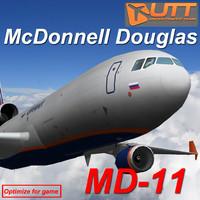 mcdonnell douglas md 3d model
