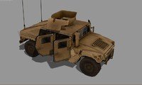 max hmmwv modeled