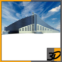 3d model jumeirah beach hotel