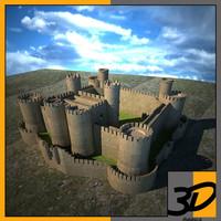 3d harlech castle