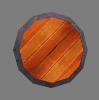 3d warrior shield