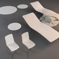 3ds max viteo garden furniture