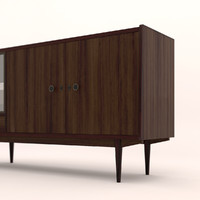 furniture wood 3d model