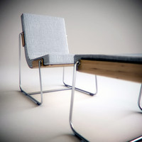 3d pancras lounge chair