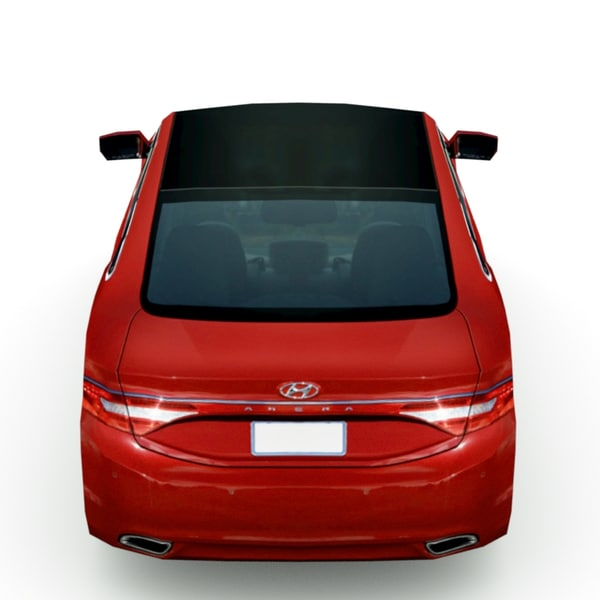 2013 Hyundai Azera Camshaft: 3d Hyundai Azera 2013