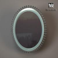 baker pearl mirror 3d max