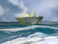 3d model paper boat