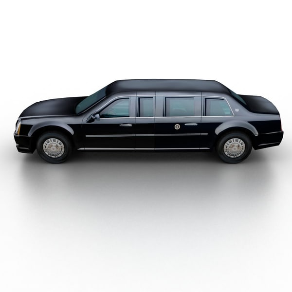 07 Cadillac Dts: 3ds Max 2009 Cadillac Dts Limousine