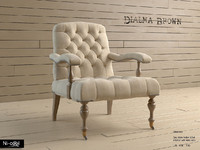 3d model armchair dialma db001843