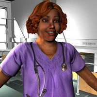 female medical staff ma