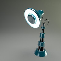 free obj model ring lamp