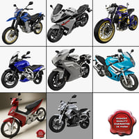 motorcycles ducati kawasaki suzuki 3d max