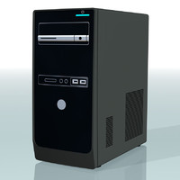 3d model of desktop pc
