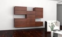 3d model cabinet sofa