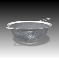 kitchen sieve 3d max