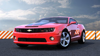 3d chevy camaro car model