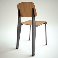 standard chair 3d model