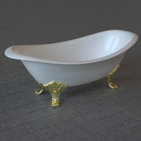 bath tub bathtub obj