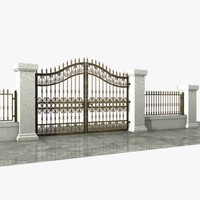 Wrought Iron Gate 05