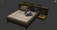 bed maps 3d model