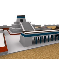 TENOCHTITLAN 3D ANCIENT CITY MAX 2010
