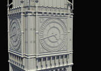 big ben tower 3d model