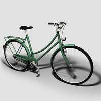 3d model of bicycle cycle