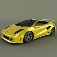 lamborghini cala 3d model