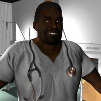 ma male medical staff
