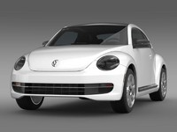 VW Beetle Design 2012