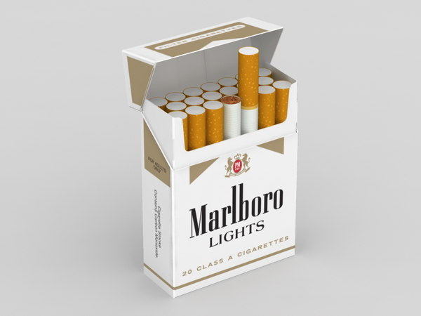 3ds marlboro cigarette pack