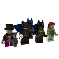 Lego Batman Minifigures Collection